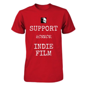 Bony Fiddle T-shirt - fundraising, support horror indie film